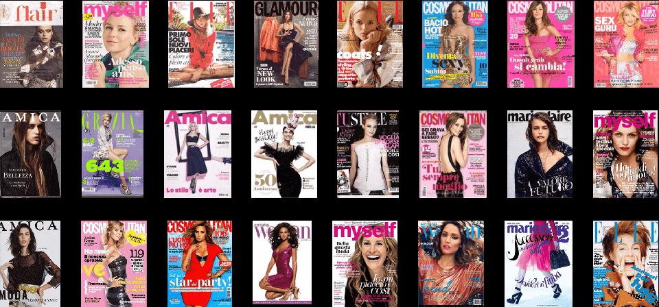 Covers redazionali 03 - marketing e comunicazione | Studio Ponzelli