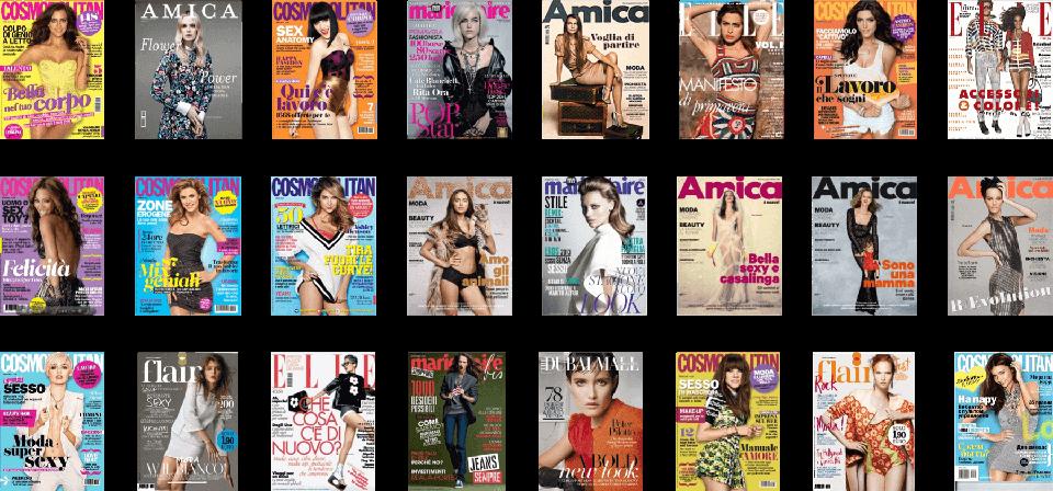 Covers redazionali 01 - marketing e comunicazione | Studio Ponzelli
